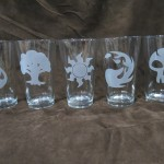 Custom Glassware For The Geek That Has Everything