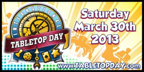 International Tabletop Day!