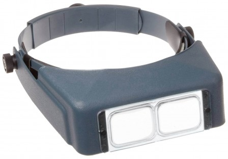 Donegan OptiiVISOR with replaceable lenses