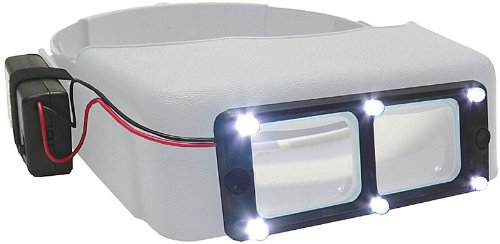 The OptiVISOR LED Light Attachment
