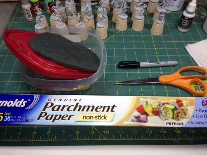 make a wet palette, tabletop, hobby, miniatures, painting