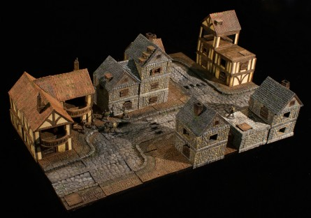 dwarven forge city builder terrain system