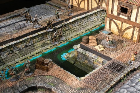 Dwarven Forge City Building System Sewers