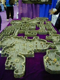 Dwarven Forge resin sets modular dungeon terrain