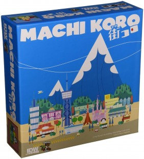 Machi Koro, board game, card game, dice game, tabletop, family game, game night
