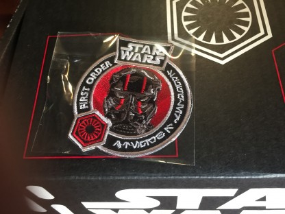 TIE Fighter Patch from the FUNKO Star Wars Smugglers Bounty Box