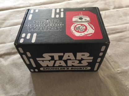 Funko Star Wars Smugglers Bounty The Resistance subscription gift box