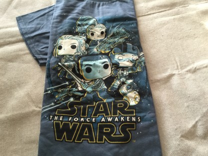 Funko Star Wars Smugglers Bounty The Resistance t shirt