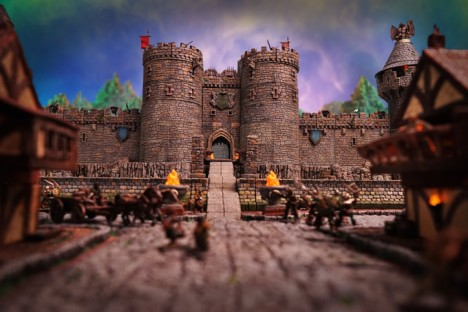 The Dwarven Forge Castle Builder System Kickstarter