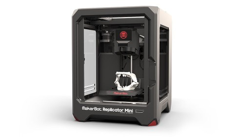 The Makerbot Replicator Mini 3D Printer