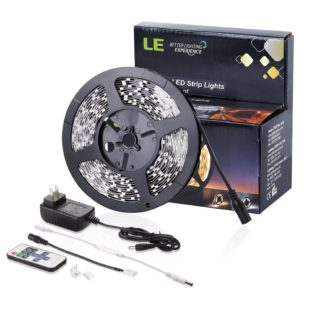 This LED light kit and a few other items is perfect for adding bright lights to your airbrush spray booth